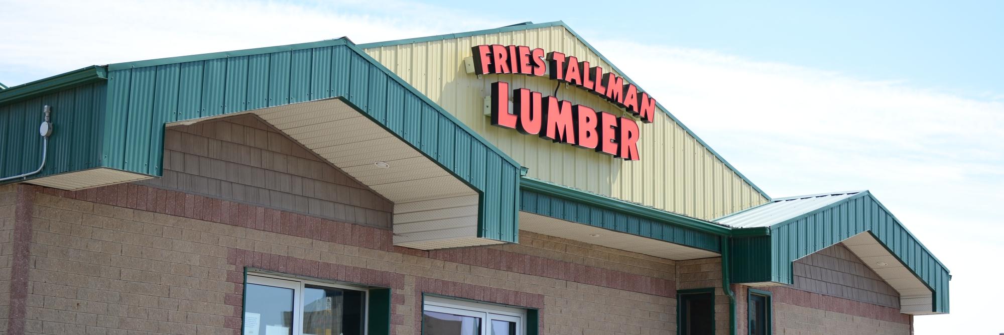 Fries Tallman Lumber