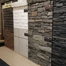 New display wall! #friestallman #qualitystone #newlook #shoplocal