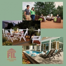 How will you use the deck?  Do you entertain often or plan to host large gatherings on the deck?  Do you need a table to seat six or will deck just be for you and your partner to sit and relax?  #friestallman  #yqr  #planahead  #deckseasoniscoming #deckde