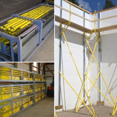 Giraffe Scaffold Rental